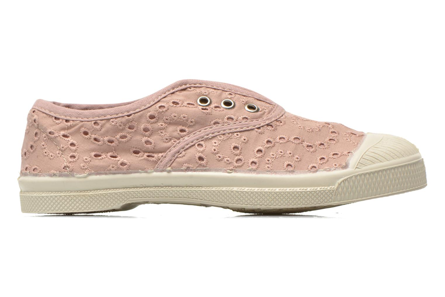 Baskets Bensimon Tennis Elly Broderie Anglaise E Rose vue derrière