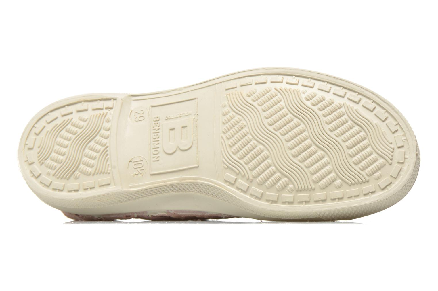Trainers Bensimon Tennis Elly Broderie Anglaise E Pink view from above