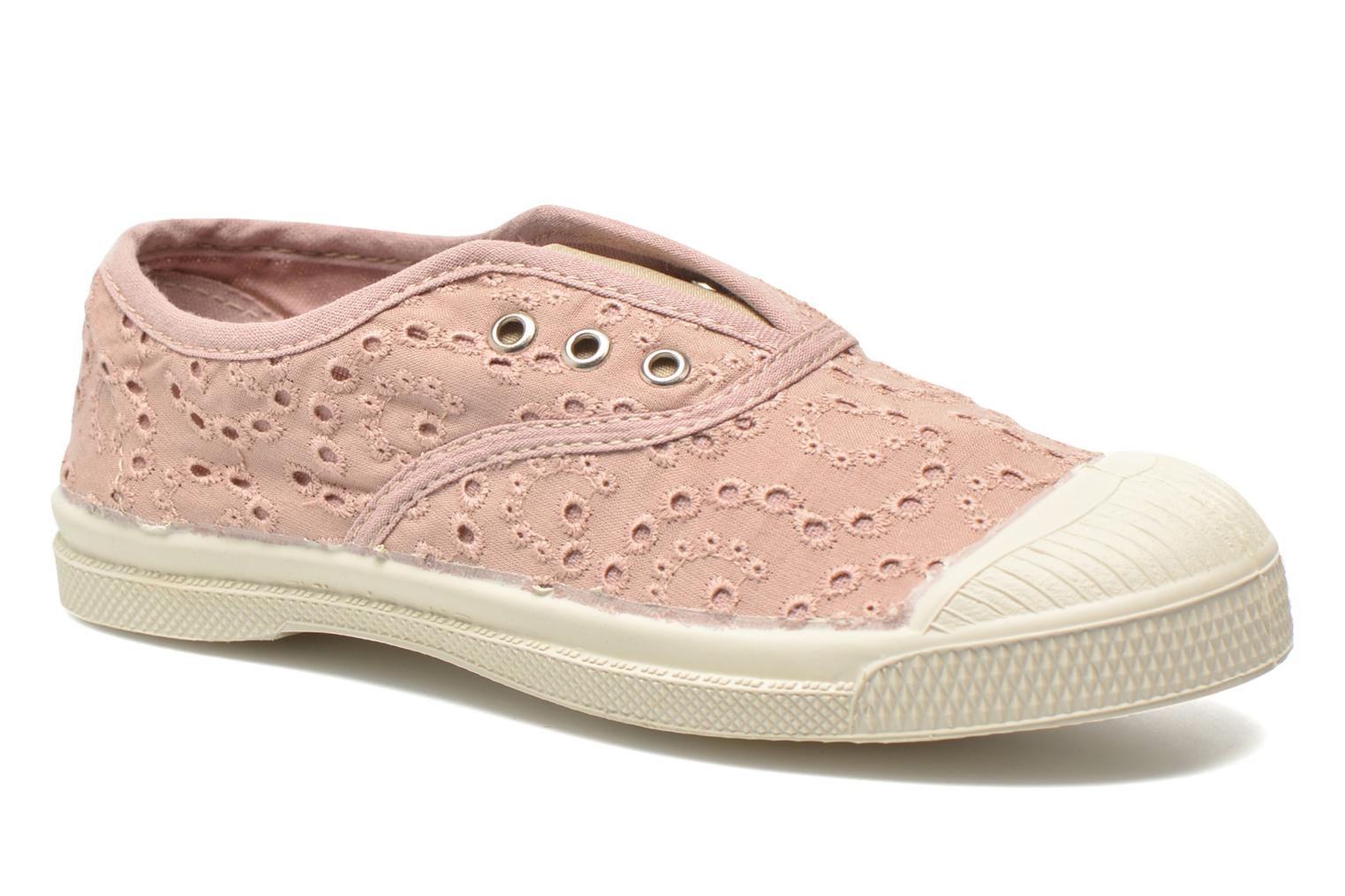 Trainers Bensimon Tennis Elly Broderie Anglaise E Pink detailed view/ Pair view
