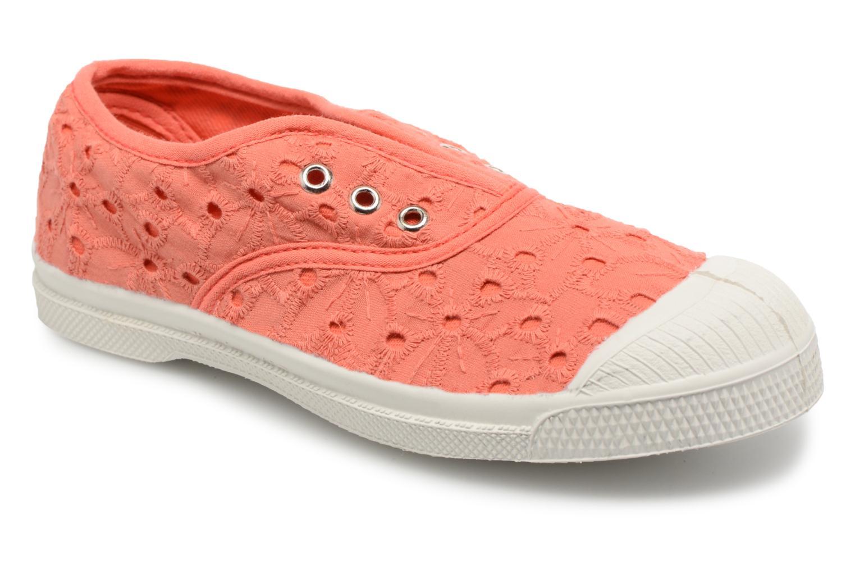 Sneakers Bensimon Tennis Elly Broderie Anglaise E Oranje detail