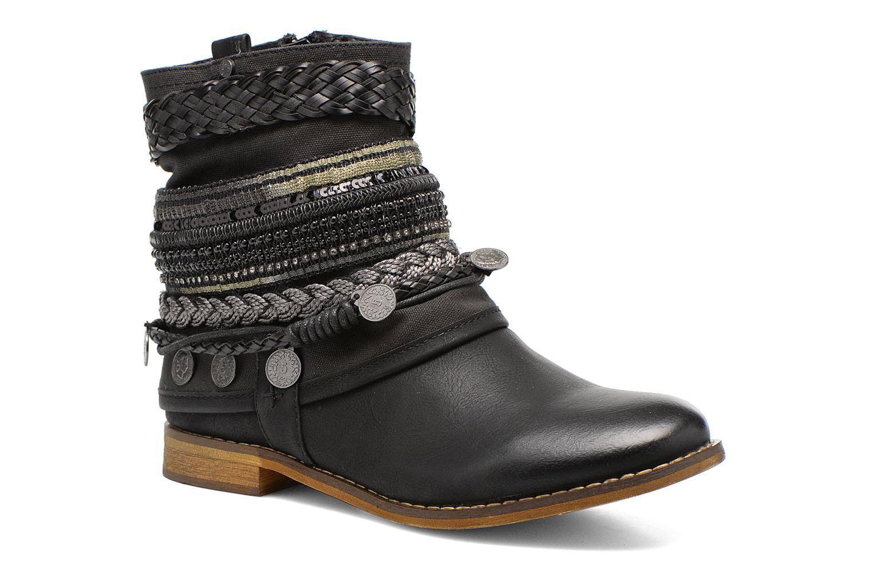 Bottines et boots Bullboxer Nadoco Noir vue détail/paire