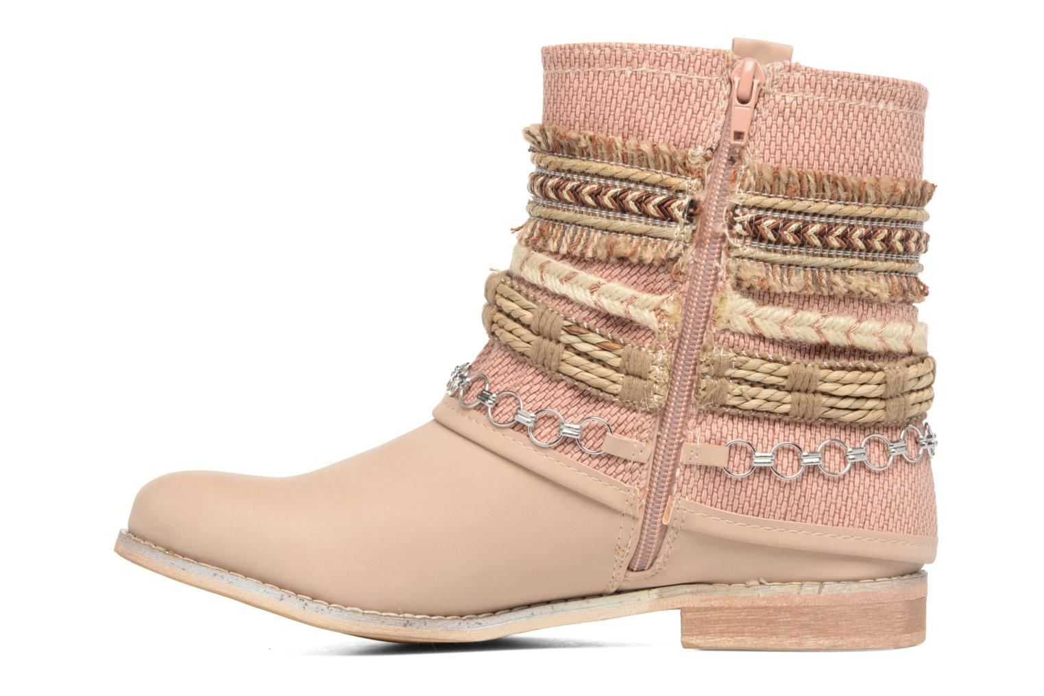 Ankle boots Bullboxer Nadoco Beige front view
