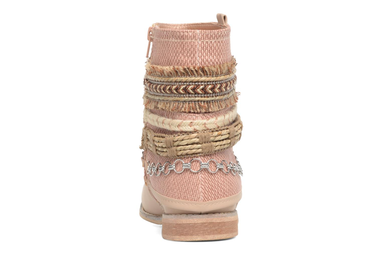 Ankle boots Bullboxer Nadoco Beige view from the right