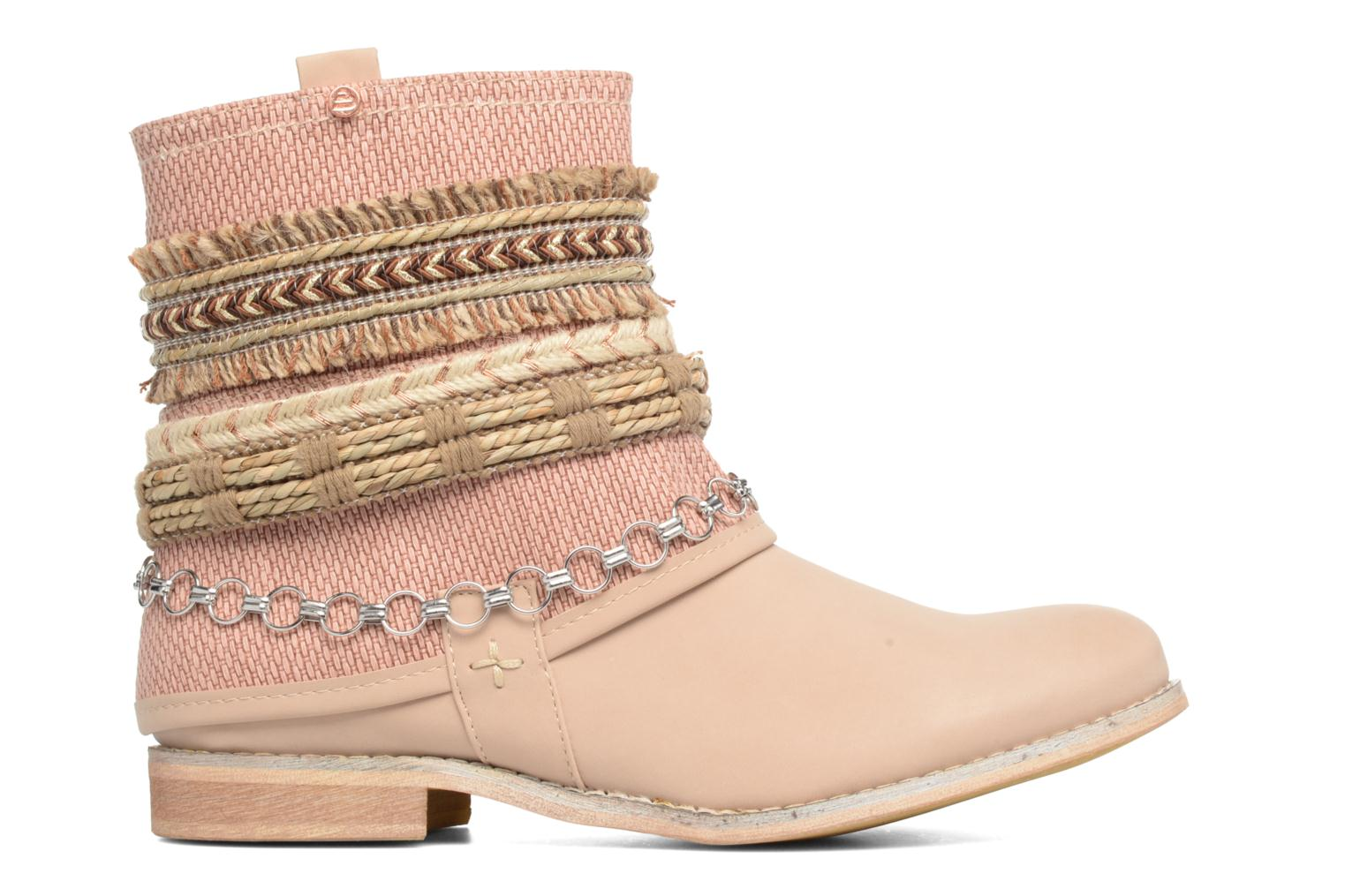 Ankle boots Bullboxer Nadoco Beige back view