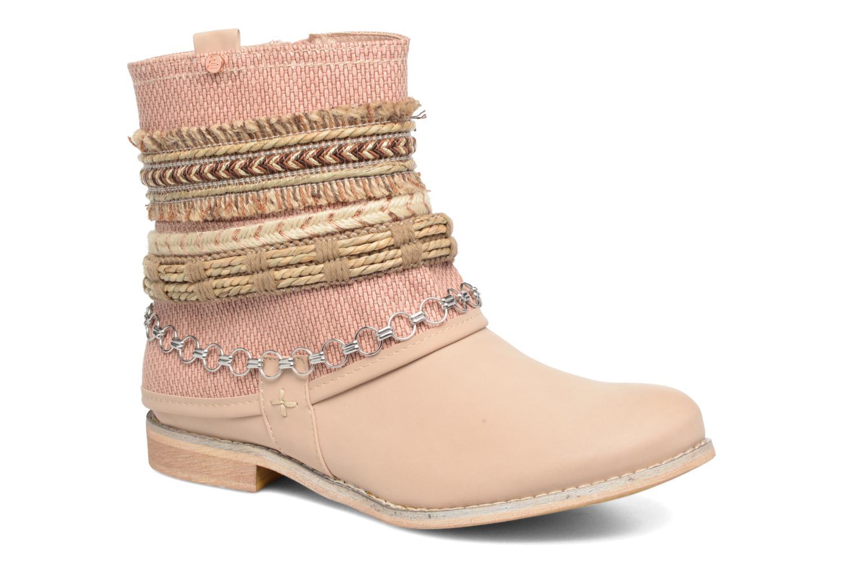 Boots en enkellaarsjes Bullboxer Nadoco Beige detail