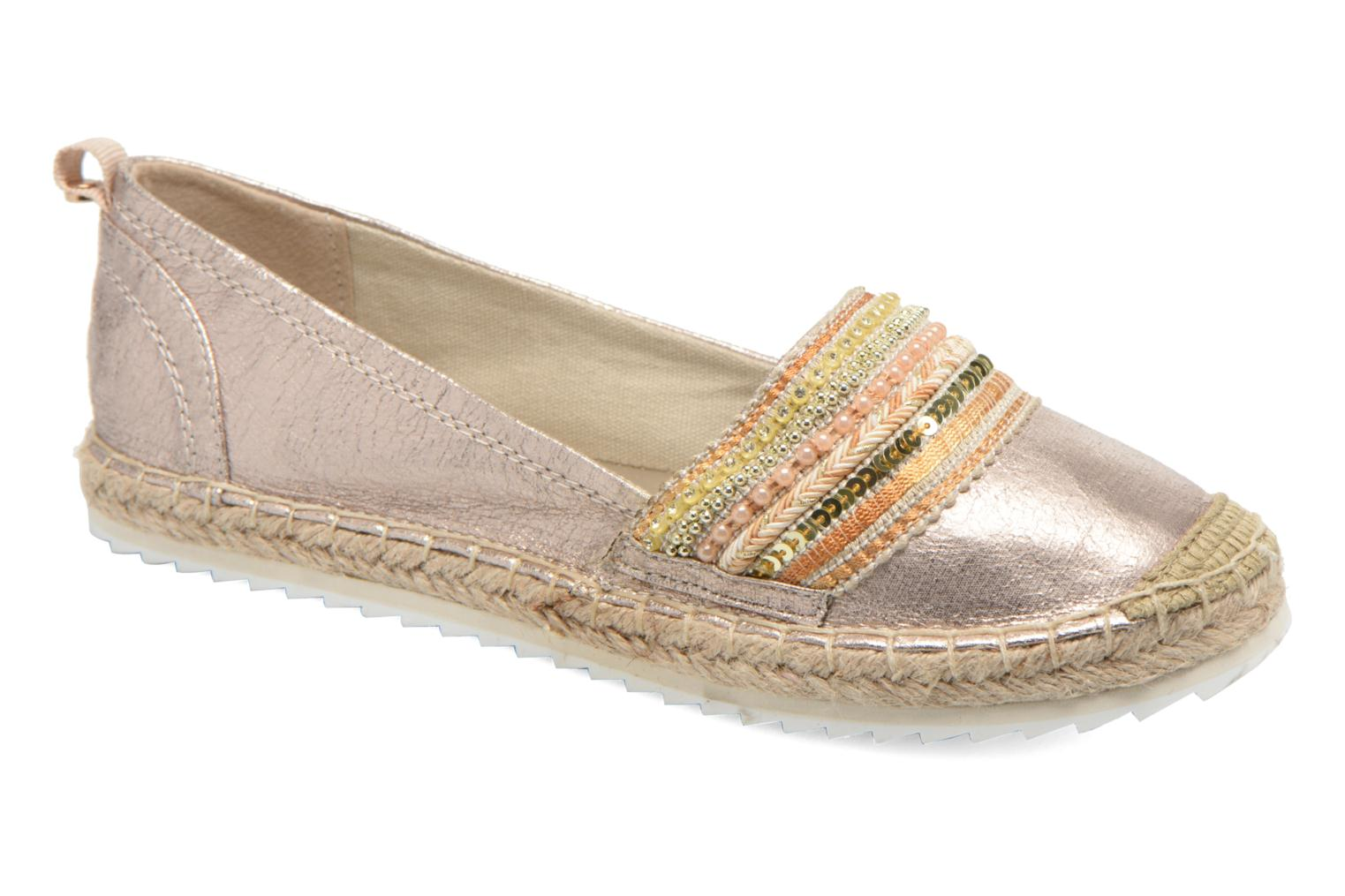 Espadrilles Bullboxer Pemito Bronze and Gold detailed view/ Pair view