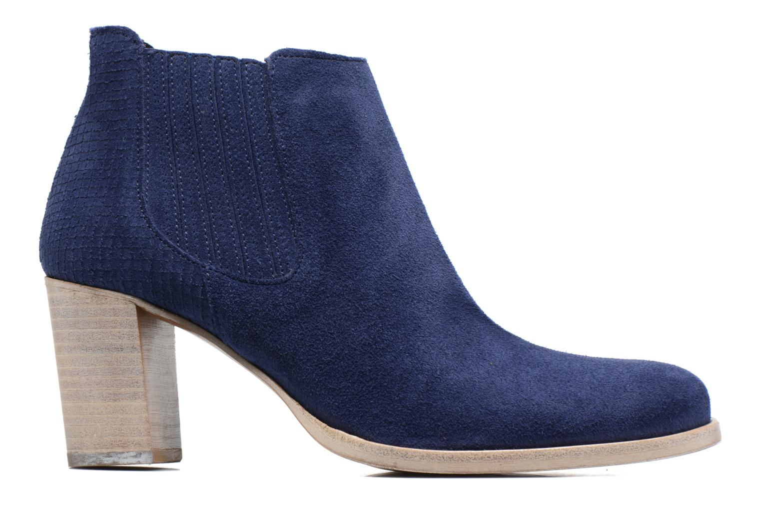 Ankle boots Muratti Bloody Blue back view