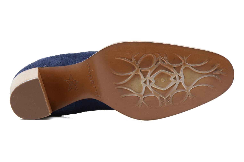 Bottines et boots Muratti Bloody Bleu vue haut