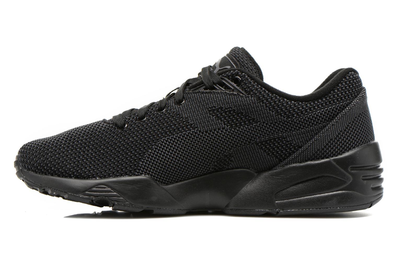 Sneakers Puma R698 Knit Mesh V2.2 Trinomic Zwart voorkant