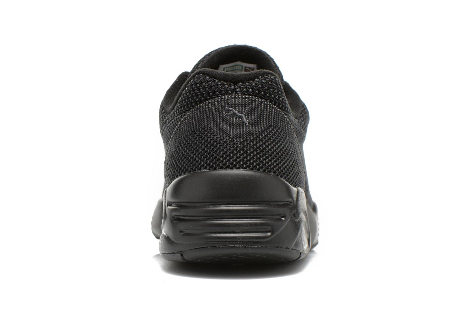 Trainers Puma R698 Knit Mesh V2.2 Trinomic Black view from the right