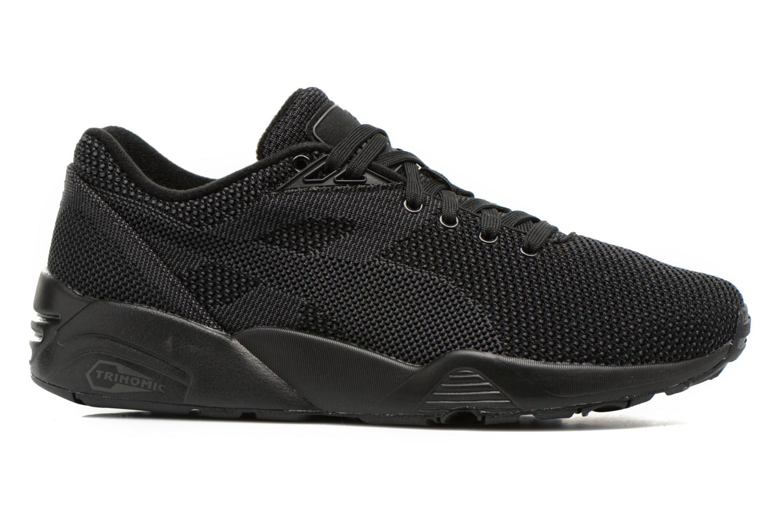 Trainers Puma R698 Knit Mesh V2.2 Trinomic Black back view