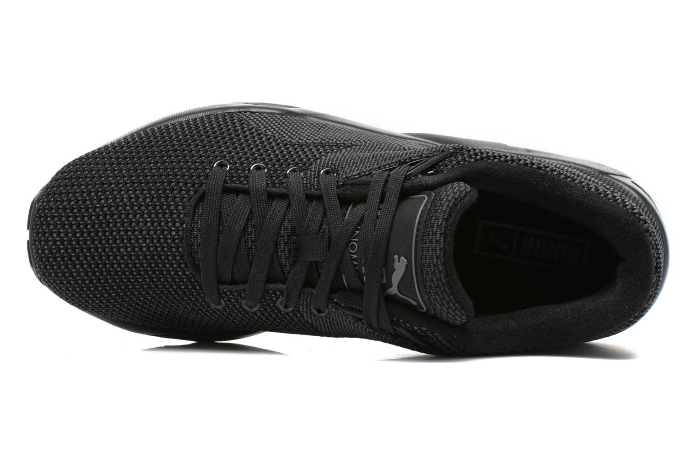 Sneakers Puma R698 Knit Mesh V2.2 Trinomic Nero immagine sinistra