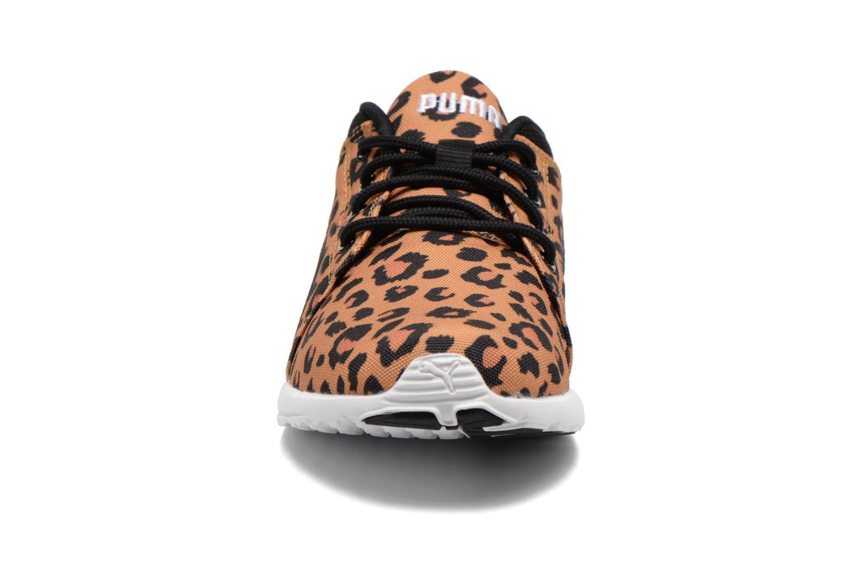 Baskets Puma WNS Carson Cheetah Marron vue portées chaussures