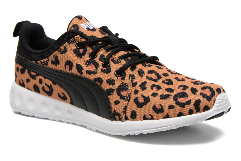 Baskets Puma WNS Carson Cheetah Marron vue détail/paire