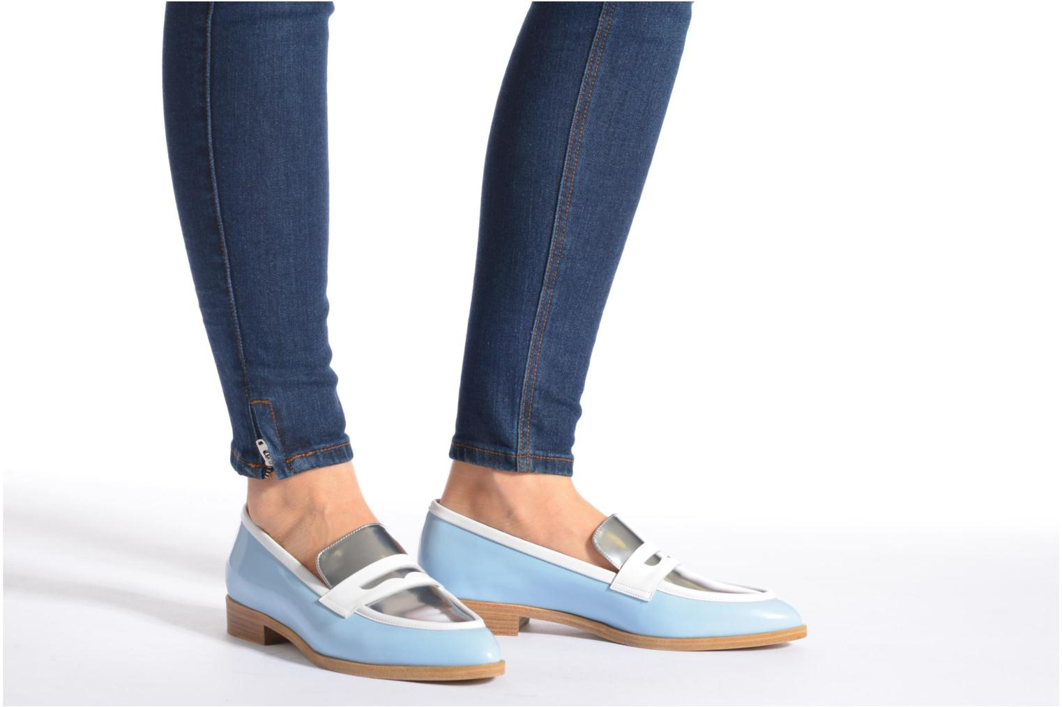 Loafers Rebecca Balducci Claira Blue view from underneath / model view