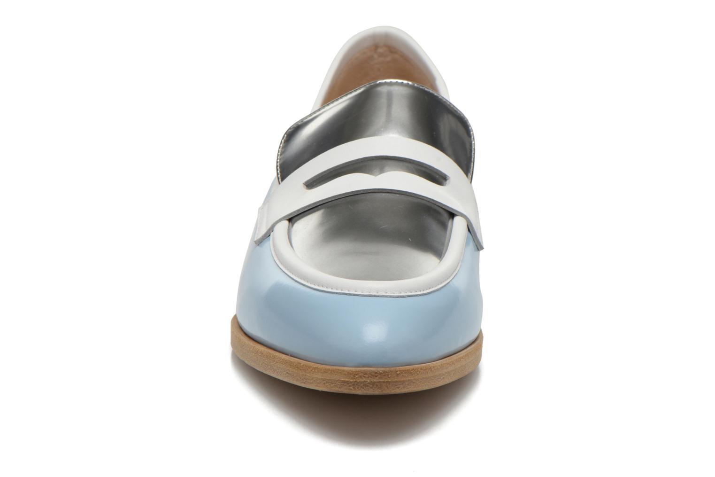 Loafers Rebecca Balducci Claira Blue model view