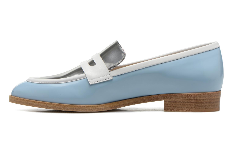 Loafers Rebecca Balducci Claira Blue front view