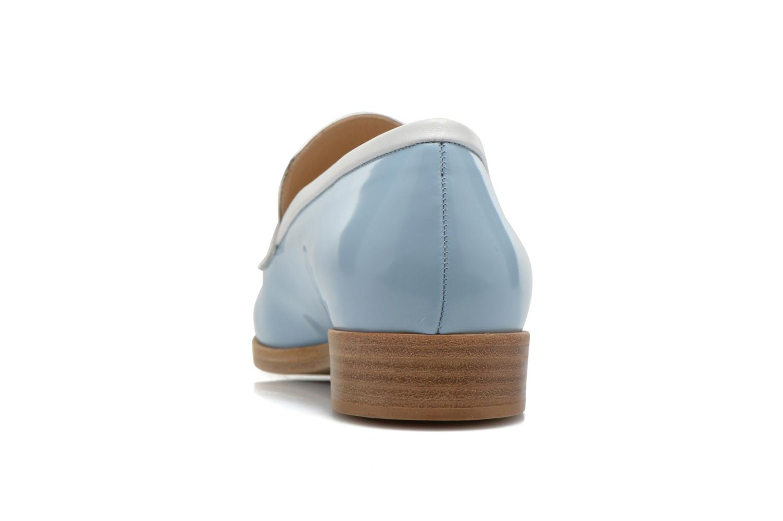 Loafers Rebecca Balducci Claira Blue view from the right