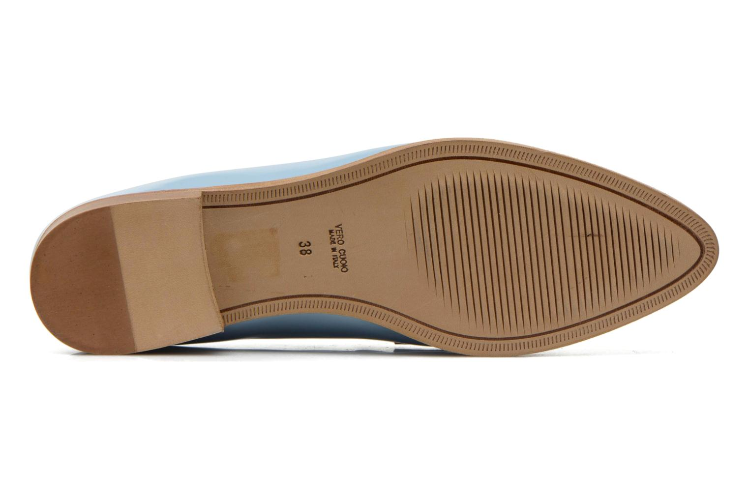 Loafers Rebecca Balducci Claira Blue view from above