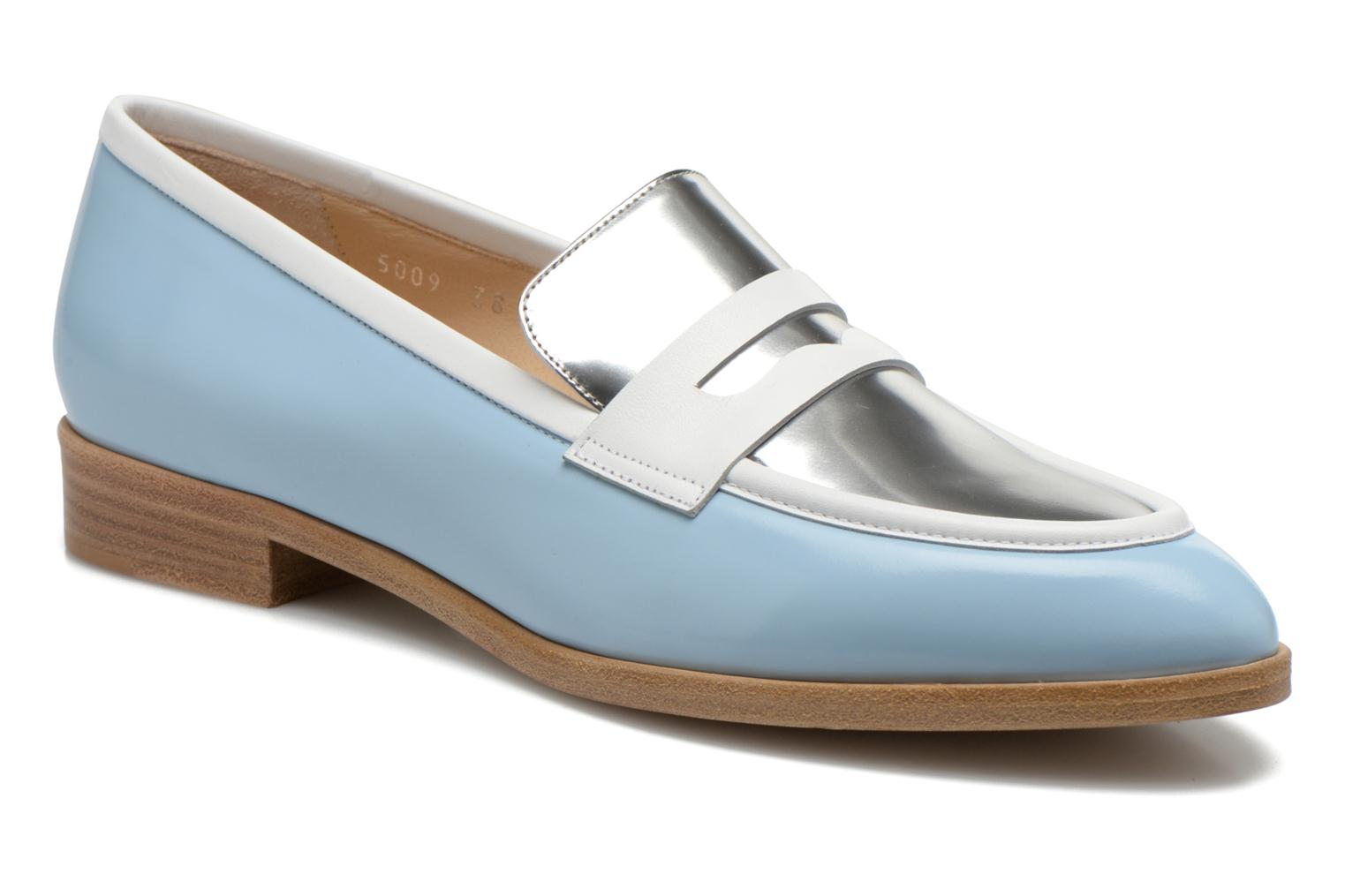 Loafers Rebecca Balducci Claira Blue detailed view/ Pair view