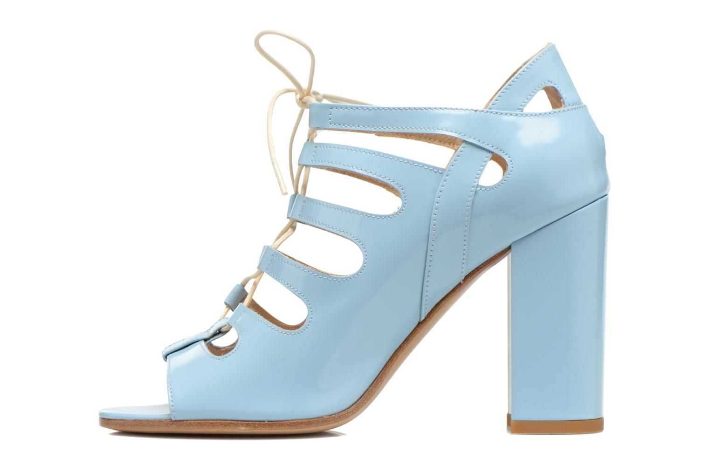 Sandales et nu-pieds Rebecca Balducci Théa Bleu vue face