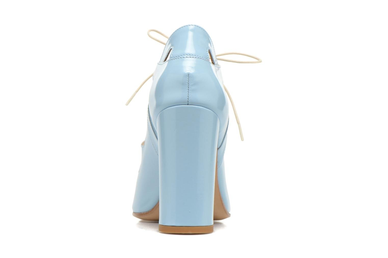Sandales et nu-pieds Rebecca Balducci Théa Bleu vue droite