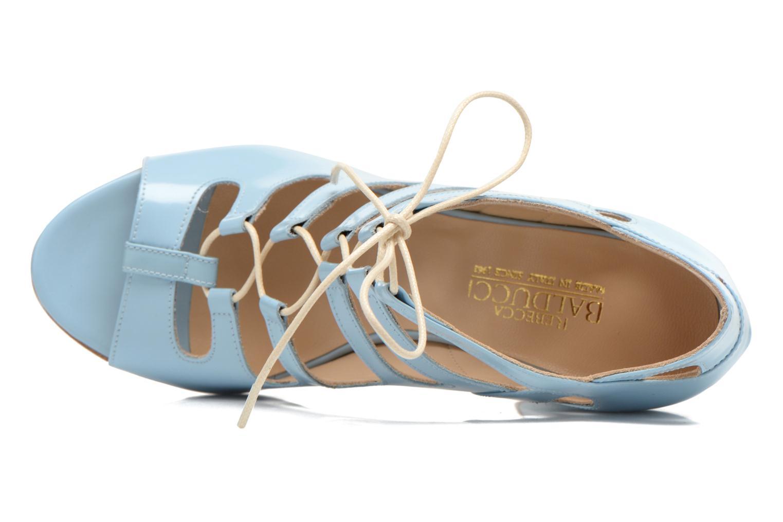 Sandales et nu-pieds Rebecca Balducci Théa Bleu vue gauche