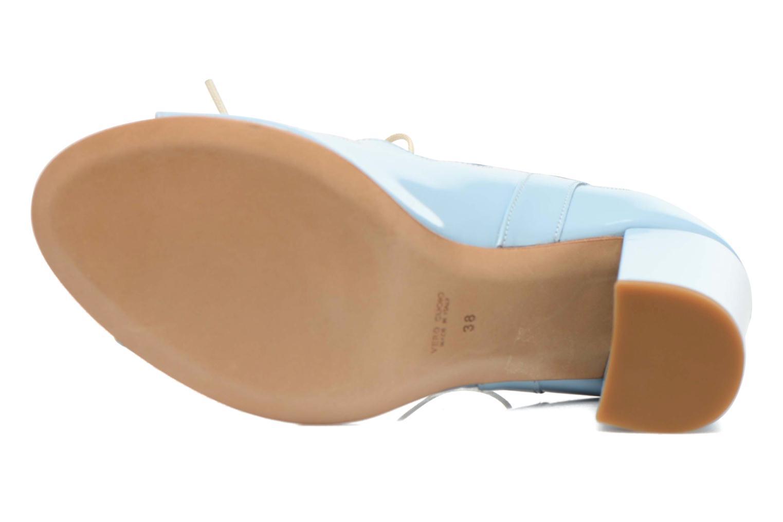Sandales et nu-pieds Rebecca Balducci Théa Bleu vue haut