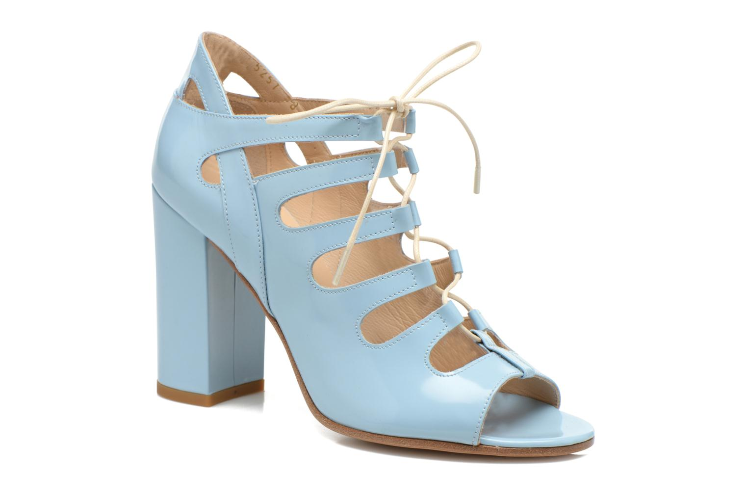 Sandals Rebecca Balducci Théa Blue detailed view/ Pair view