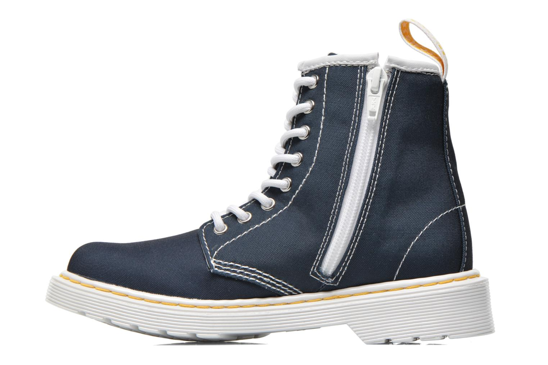 Juniors Delaney Lace Boot Canvas Navy T Canvas