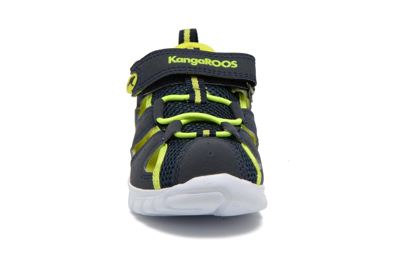 Sneakers Kangaroos Rock lite Azzurro modello indossato