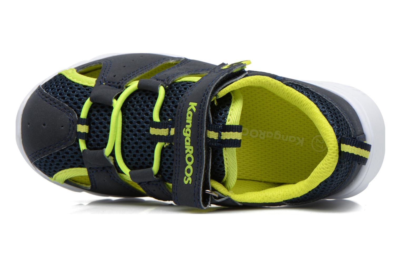 Sneakers Kangaroos Rock lite Azzurro immagine sinistra