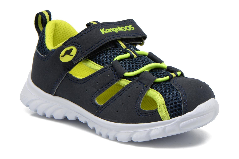 Sneakers Kangaroos Rock lite Blå detaljeret billede af skoene