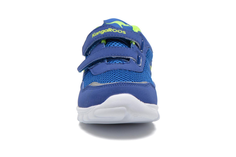 Baskets Kangaroos Inlite 3003B Bleu vue portées chaussures