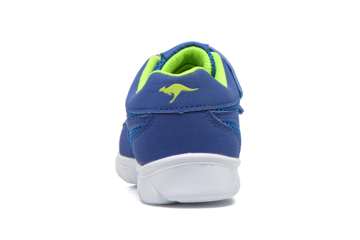 Trainers Kangaroos Inlite 3003B Blue view from the right