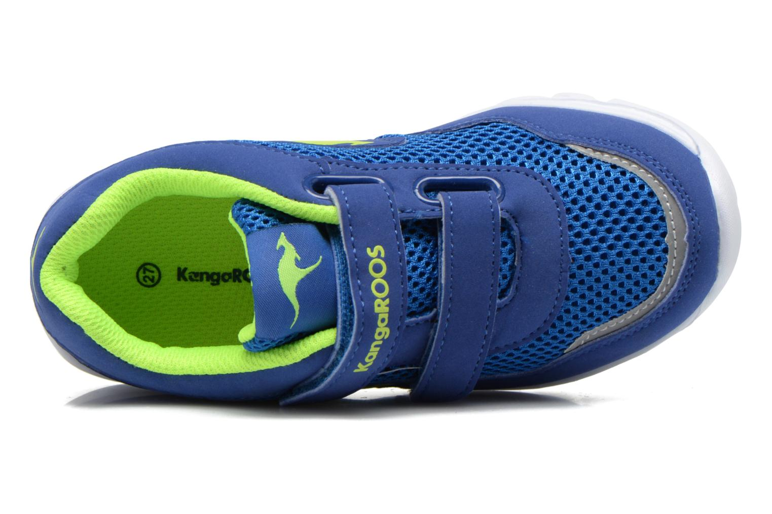 Trainers Kangaroos Inlite 3003B Blue view from the left