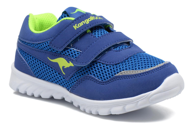 Sneakers Kangaroos Inlite 3003B Blå detaljerad bild på paret