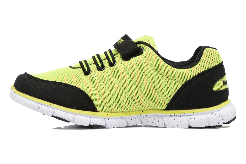Sneakers Kangaroos Nuri-Zebra Geel voorkant