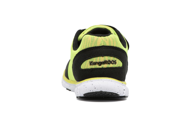Sneakers Kangaroos Nuri-Zebra Geel rechts