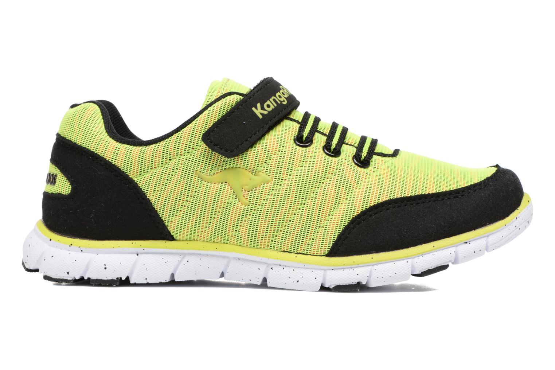 Sneakers Kangaroos Nuri-Zebra Geel achterkant