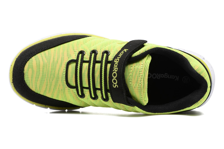 Sneakers Kangaroos Nuri-Zebra Geel links
