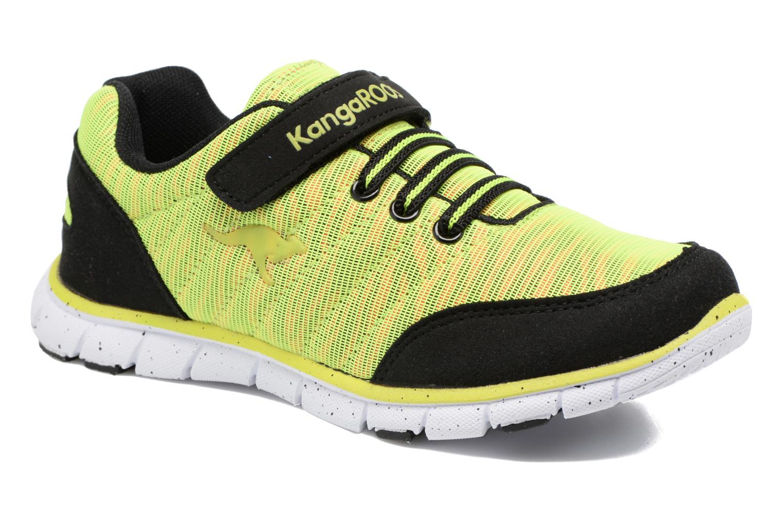 Sneakers Kangaroos Nuri-Zebra Geel detail