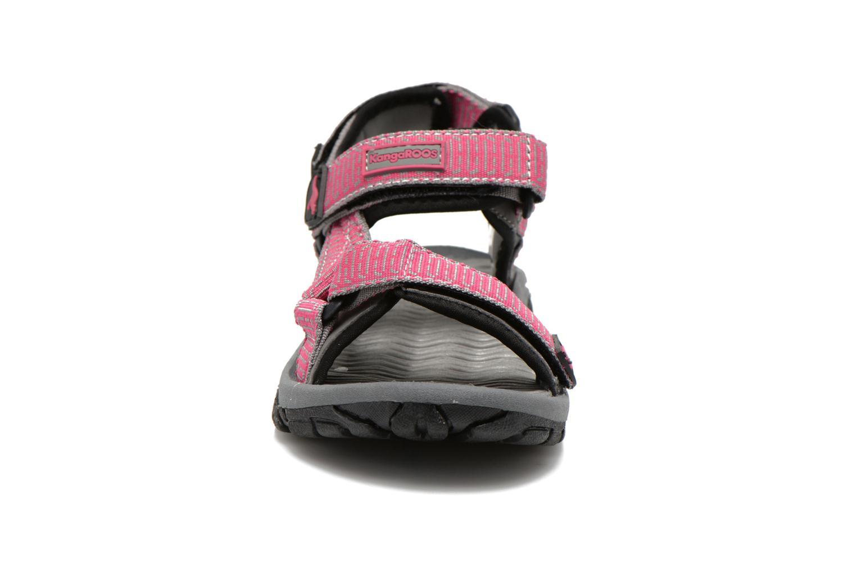 Sandalen Kangaroos KS-22 rosa schuhe getragen