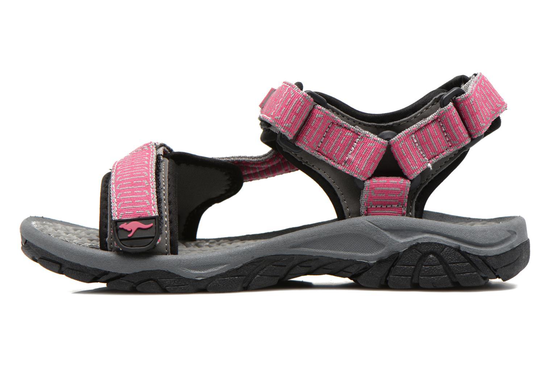 Sandali e scarpe aperte Kangaroos KS-22 Rosa immagine frontale