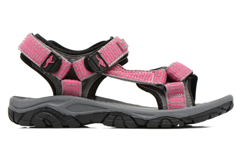 Sandali e scarpe aperte Kangaroos KS-22 Rosa immagine posteriore
