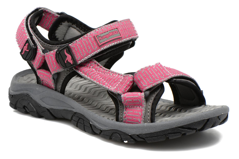 Sandaler Kangaroos KS-22 Pink detaljeret billede af skoene