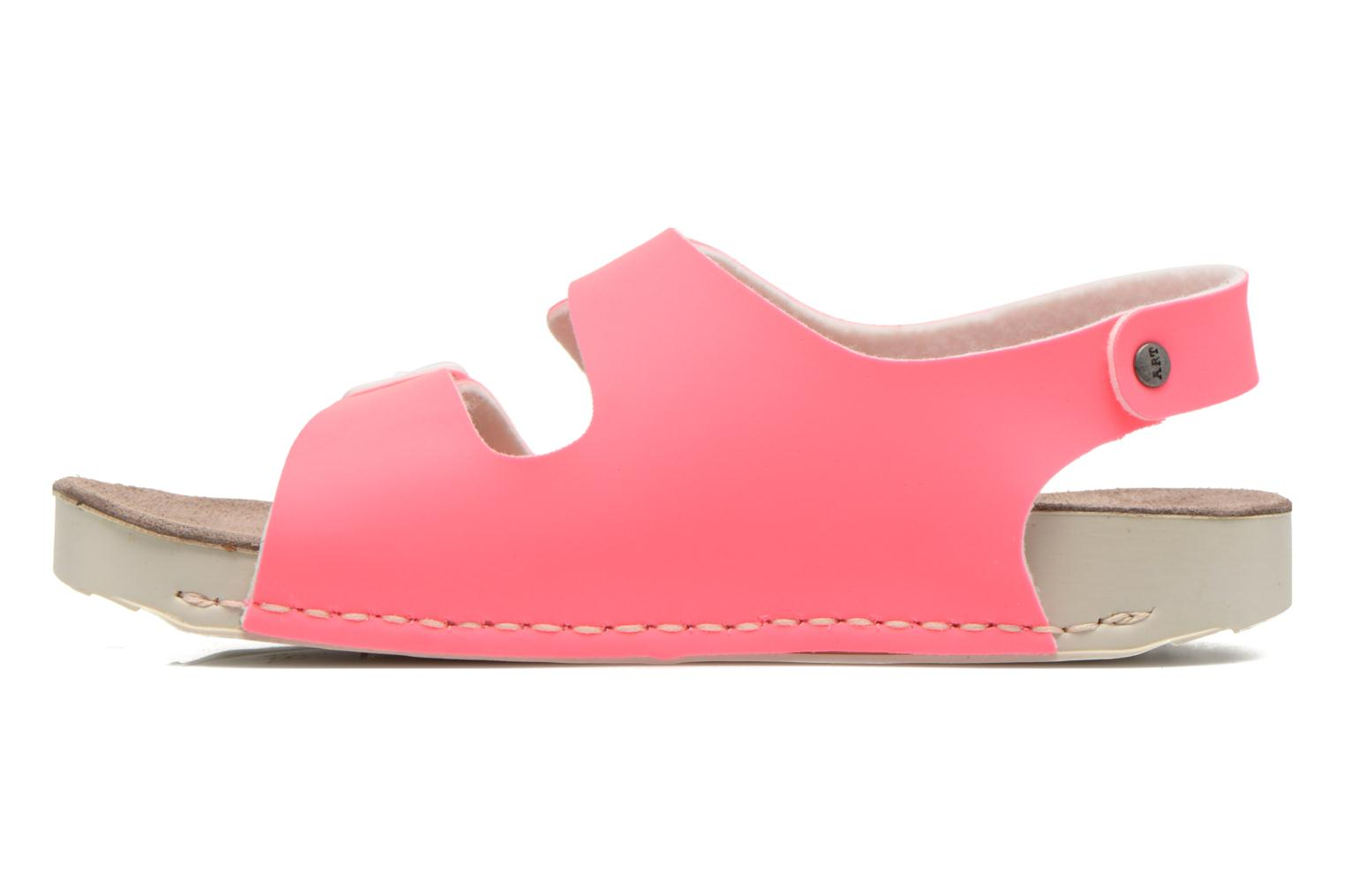Sandals Art A433 I Play Pink front view