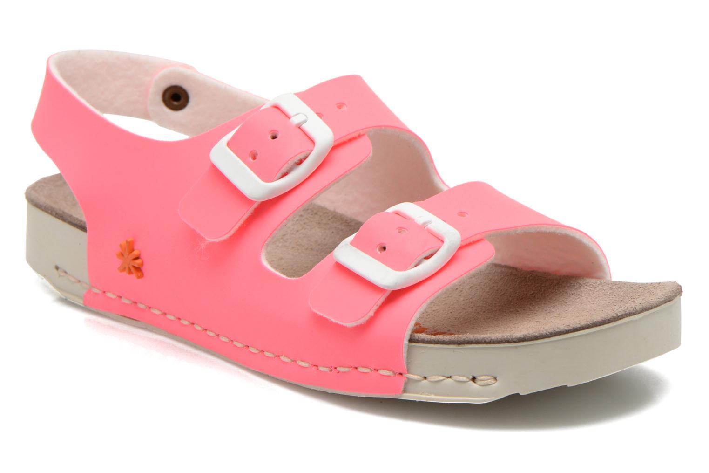 Sandales et nu-pieds Art A433 I Play Rose vue détail/paire