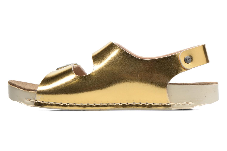 Sandalias Art A433 I Play Oro y bronce vista de frente