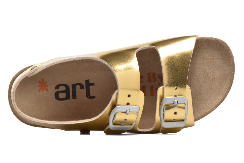 Sandales et nu-pieds Art A433 I Play Or et bronze vue gauche